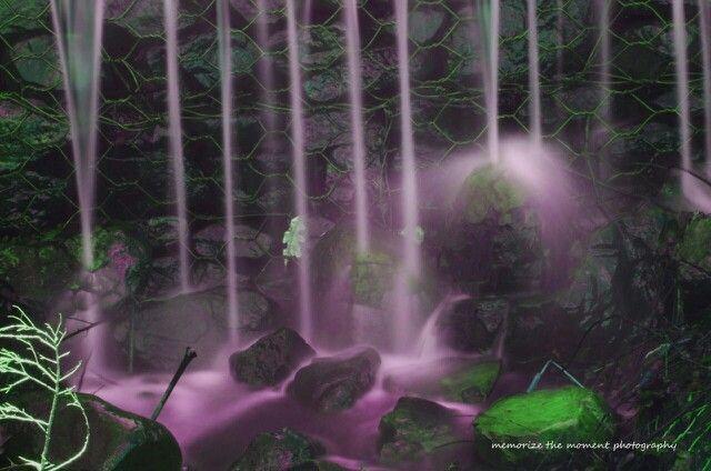 Nature , helderberg nature reserve, waterfall, green, purple water, long exposure,