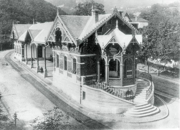 Train station Zugligeti út 64. - ca.1800