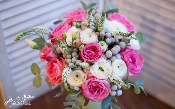 Winter wedding bouquet Свадебный букет