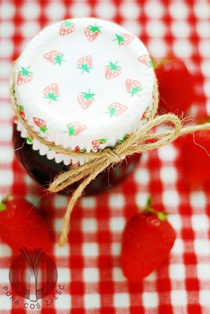 Preserve from strawberries / Konfitura z truskawek