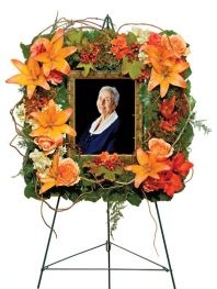 Funeral idea. Much more personal and special.
