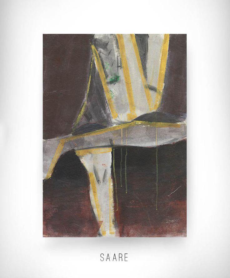 5 minut - Adam Gaździcki, obraz, akryl na kartonie // 5 minutes - painting, acrylic on cardboard