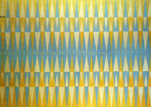 Giacomo Balla, Iridescent interpenetration,no 4, study of light, 1912