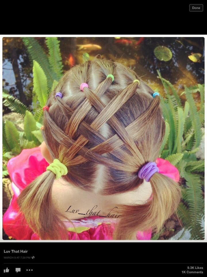 Girls hair idea