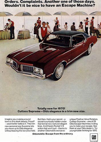 1970 Olds Cutlass upreme