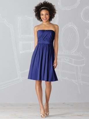 After Six Bridesmaids dress 6620 - color in sailor