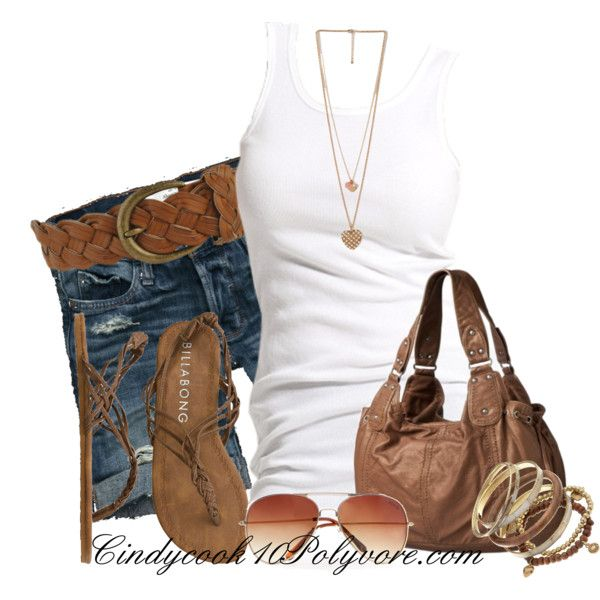 Casual OutfitChic Outfit, Summer Fashion, Summer Looks, Casual Summer, Summer Outfit, Tanks Tops, Fashionista Trends, Summer Casual Outfit, Everyday Outfit