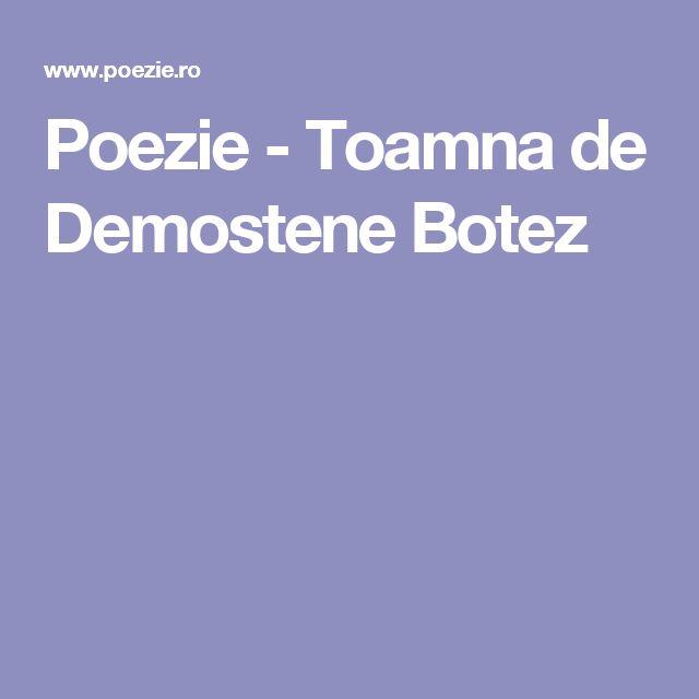 Poezie - Toamna de Demostene Botez