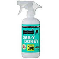Best Non-Toxic Wood Cleaner; Smells Amazing! - Better Life Oak-y Dokey, Natural Wood Cleaner & Polish 16 oz