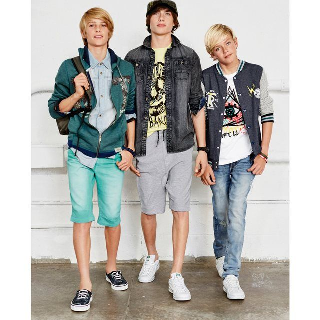 Image T-shirt manches courtes imprimé R teens