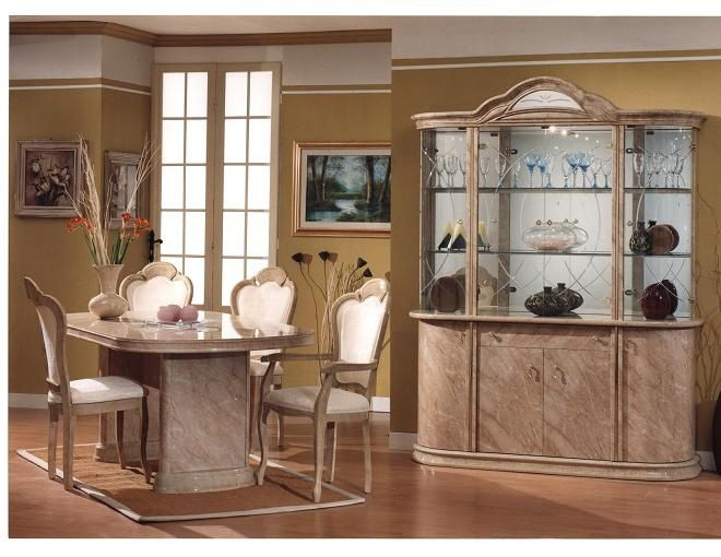 Lucia Dining Room Set By Glass Form Colleciton Gogo Furniture