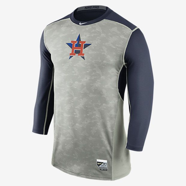 Nike Pro Hypercool Fitted (MLB Astros) Men's Shirt