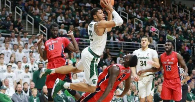 Michigan State Spartans vs DePaul Blue Demons