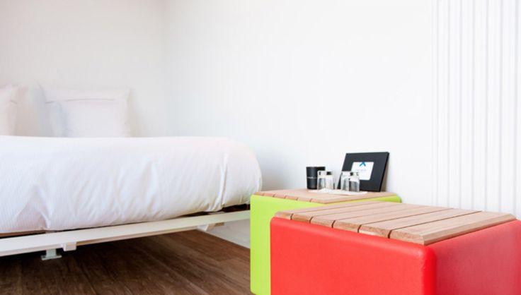 Interior Sleeping Around POP UP Containerhotel (Partners: uravit/DARK/Hans Grohe/Tende Aristide)