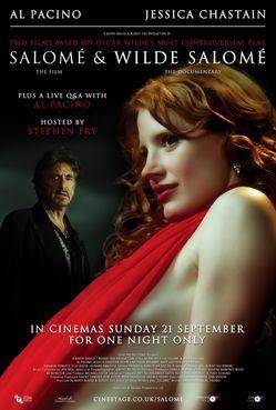 Trailer et photos de Salomé et Wilde Salomé de Al Pacino avec Jessica Chastain