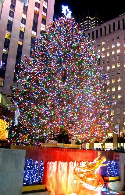 Celebrating the Holidays in New York City  No 9 - 8x10 Fine Art photograph - New York City Decor- Gift Giving-Home Decor