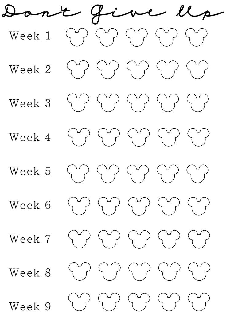 weight loss calendar tracker xv-gimnazija