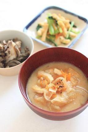 干し芋と油揚げの粕汁。 by あいらさん   レシピブログ - 料理ブログの ...