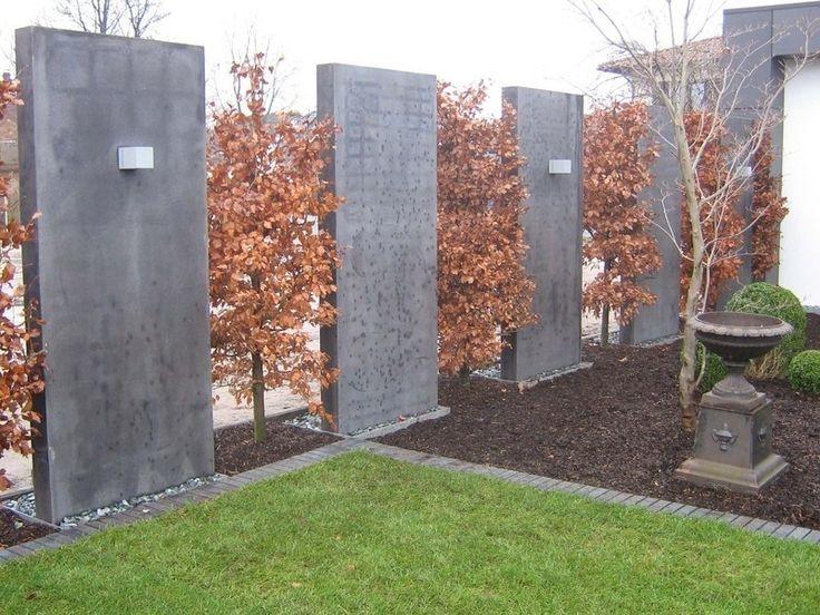 gartengestaltung bilder sichtschutzsichtschutz garten ideen gnstig gartengestaltung ideen modern - Gartenideen Wall