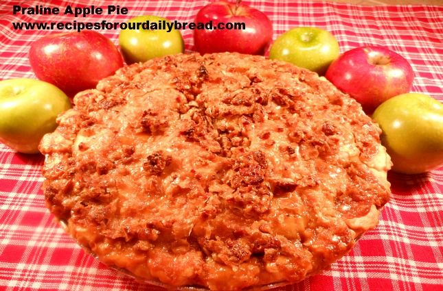 Praline Apple Pie http://recipesforourdailybread.com/2012/03/15/best ...