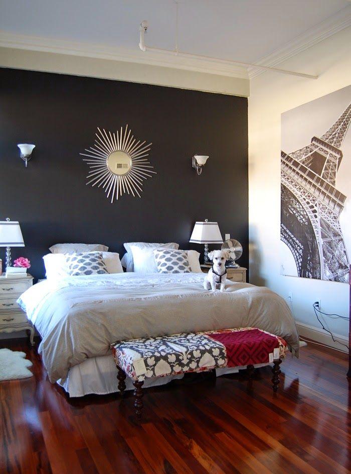 mur noir conceptions de peinture chambre