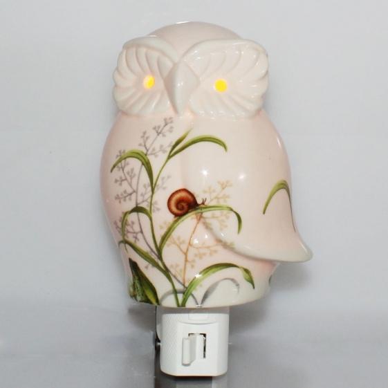 Owl Porcelain Night Light Decor Amp Other Household Ideas
