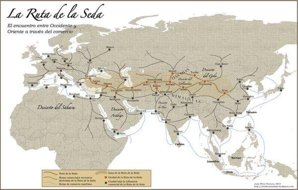 Rutas Comerciales. La Ruta de la Seda