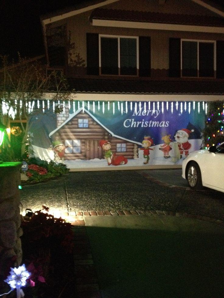 26 Best Garage Door Christmas Ideas Images On Pinterest