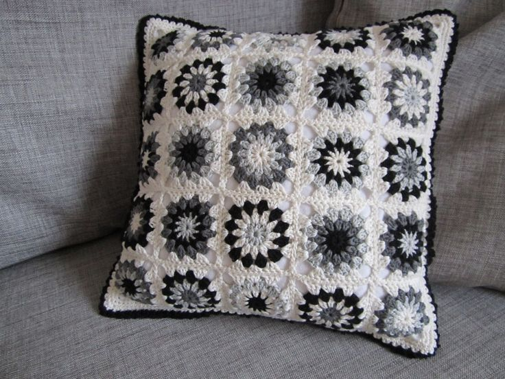 I'm happy to say I got the pillow done in time. I love the result, though I couldn't restrain myself from using a teeny tiny bit of color. M...