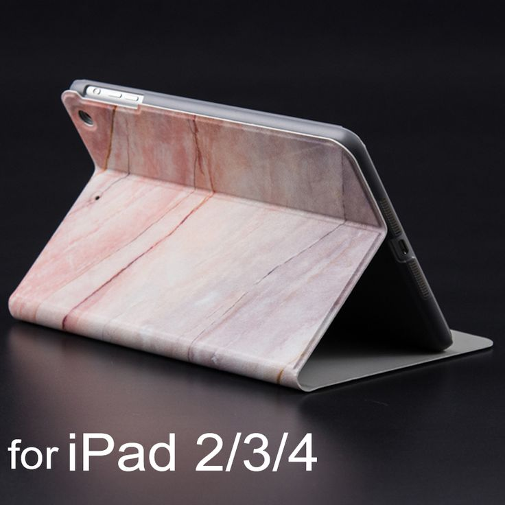 New Beautiful Marble Texture Print For iPad 4 Case Ultra Thin Flip Smart PU Leather Cover for Apple iPad 2 3 4