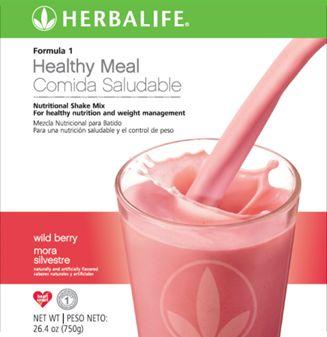 Rico sabor a Fresa. Es un batido nutritivo que sustituye a una comida con proteína, fibra y hasta 21 vitaminas y minerales esenciales. www.goherbalife.com/nutricel/es-US/Catalog/Control-de-Peso/Formula-1