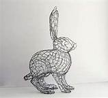 Chicken Wire Animal Sculptures - Make a topiary??