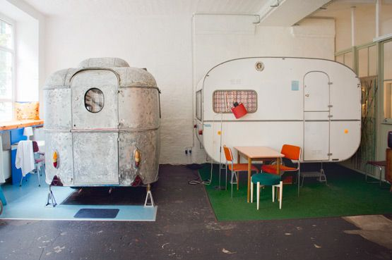Hüttenpalast Berlin for indoor camping http://www.huettenpalast.de/booking/?lang=en