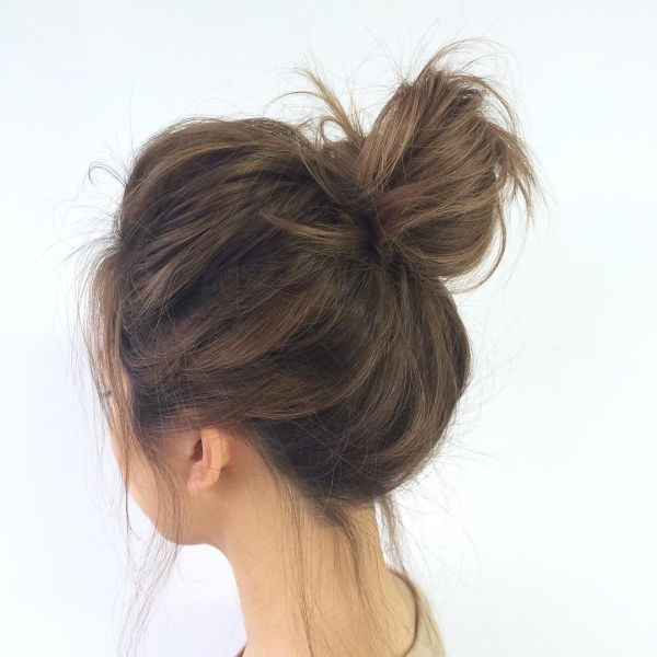 30 Gorgeous Messy Buns You Only Wish You Could Pull Off
