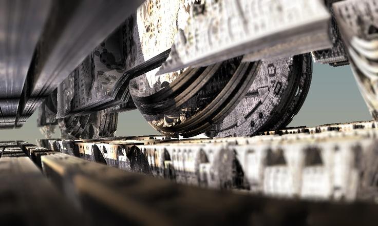 Titan wheels. Found somewhere in the Amazing Box fractal.