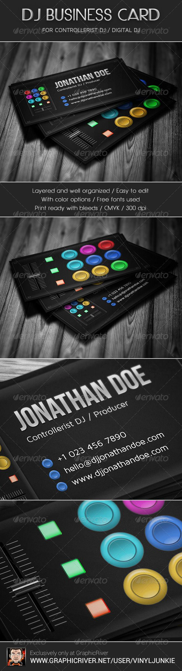 The 25 best dj business cards ideas on pinterest free business the 25 best dj business cards ideas on pinterest free business card design transparent design and plastic business cards magicingreecefo Choice Image