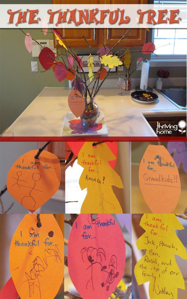 A meaningful thanksgiving craft and centerpiece for all