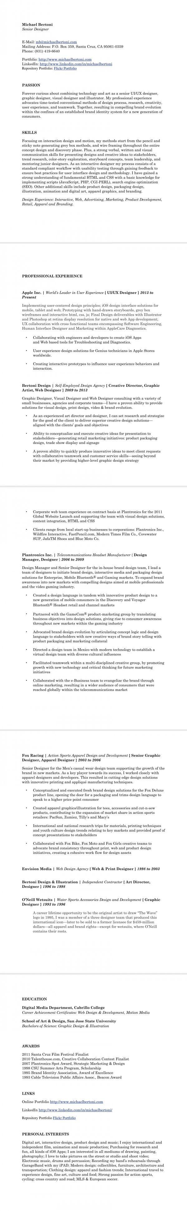 80 best Resume CV images on Pinterest