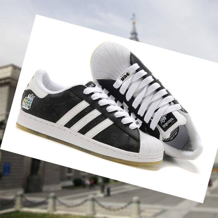 Un precio asequible Adidas Adicolor Superstar 2 zapatillas de los hombres  Negro Blanco ZeTIs 2015