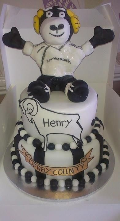 17 Best Images About Derby County Cake On Pinterest