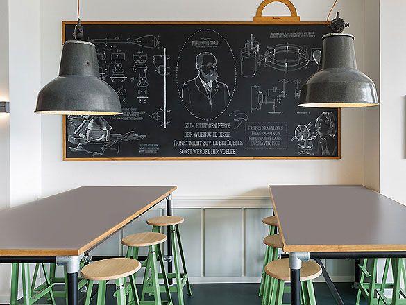 Café Ferdinand in Hamburg von Aerogram Studio
