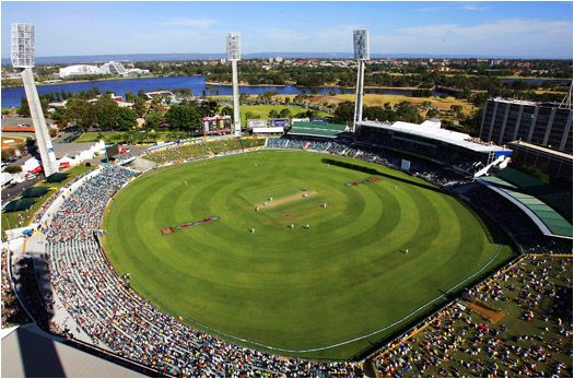 The WACA Ground is a sports stadium in Perth, Western Australia. WACA are the initials of its owners and operators, the Western Australian Cricket Association. Wikipedia