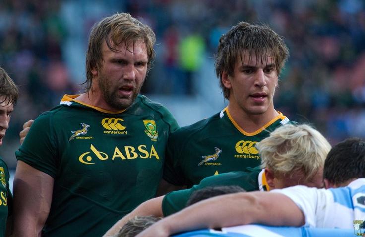 Springboks take part in IRB scrum study