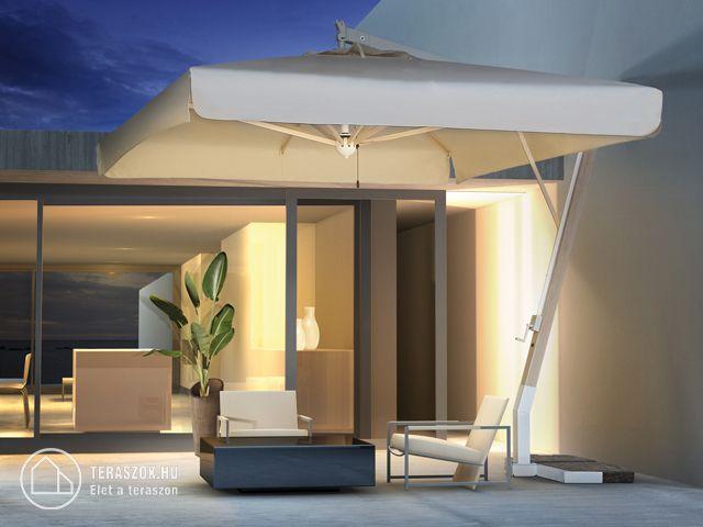 Scolaro MILANO oldaloszlopos napernyő