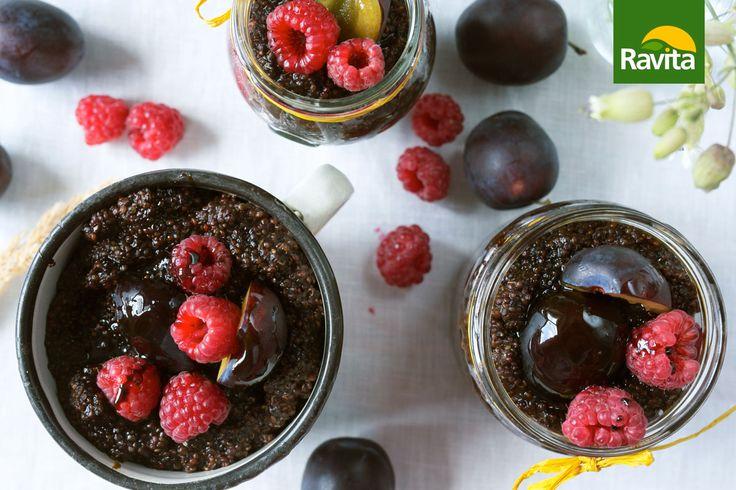 Red quinoa cacao dessert!  Recept nájdete tu: http://www.ravita.sk/main.php?page=produkt&id=684