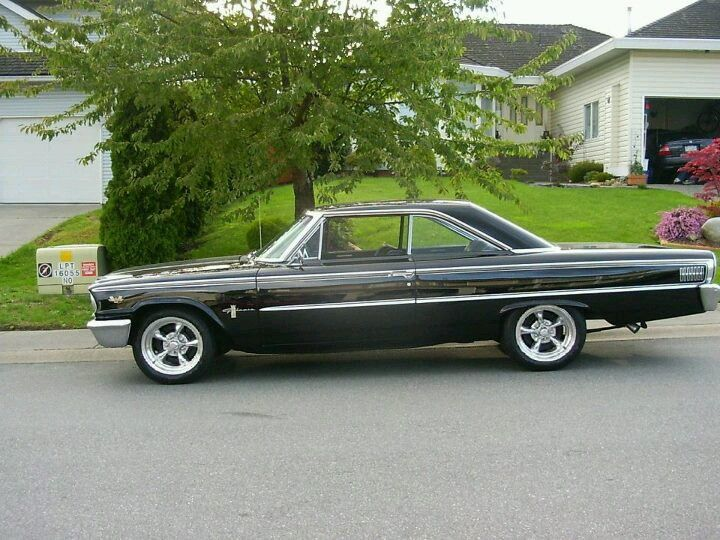 The second car I owned was like this one-A black 1963 1/2 ...
