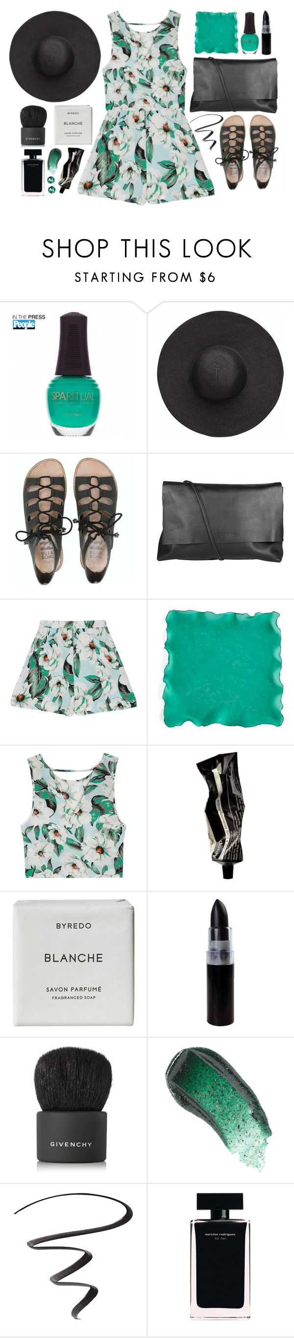 """Prague"" by via-m ❤ liked on Polyvore featuring SpaRitual, Witchery, Billabong, Arlington Milne, MINKPINK, Kim Seybert, Aesop, Byredo, Givenchy and Omorovicza"