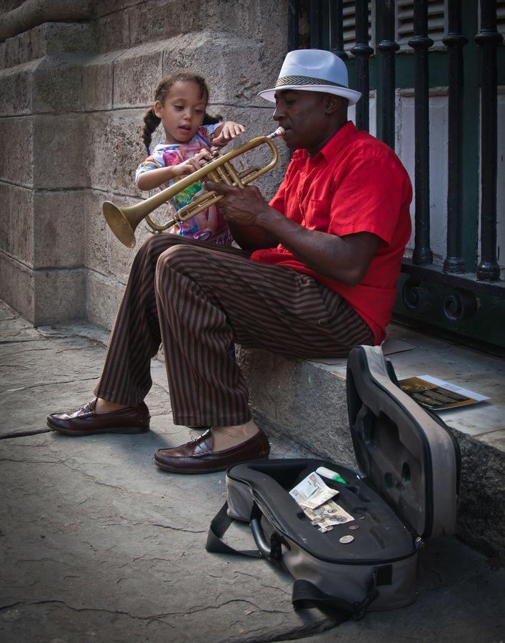 Trumpet Lesson  Havana, Cuba