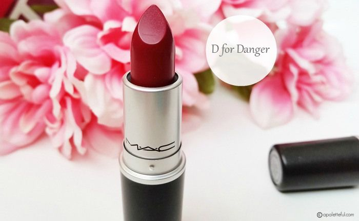 MAC The Matte Lip Collection | Whirl & D for Danger - A Paletteful