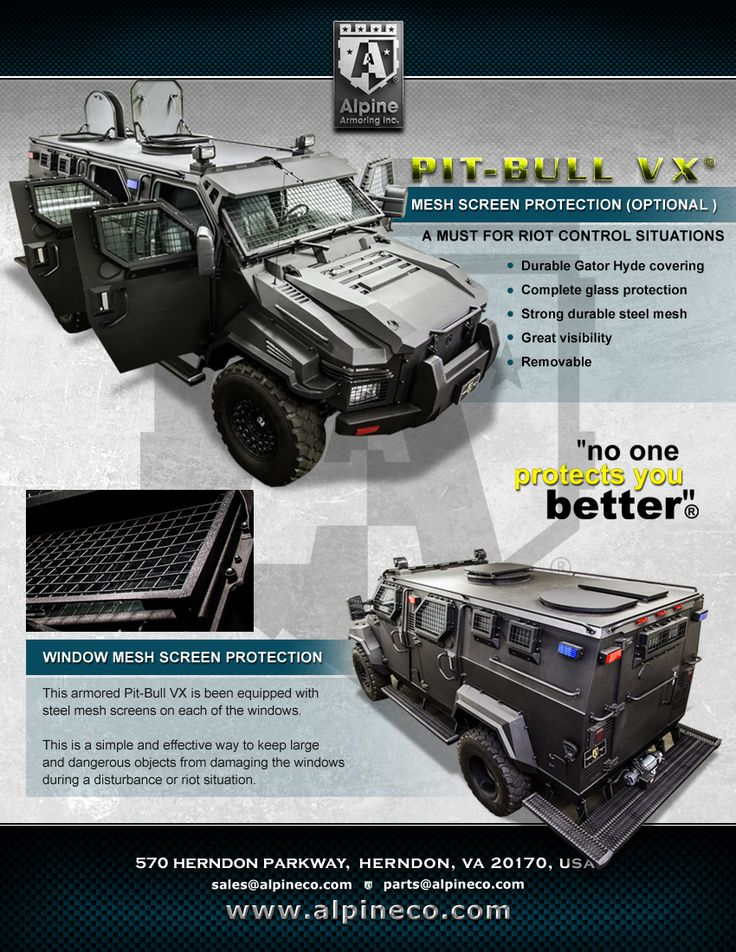 Alpine Armoring - Armored Ford F-550 Pit-Bull VX® APC/SWAT Truck (WOW!!!!!)